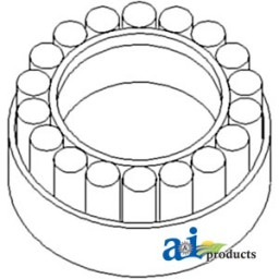 83934020 Bearing Differential Pinion