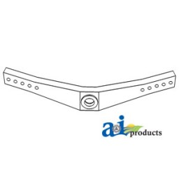 C7NN3010F - Front Axle Assembly w/ Bushing