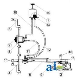 Fd105 Kit Power Steering Conversion