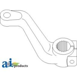 R217615 Steering Arm Rh also  on 5203 john deere parts diagrams