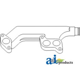 R46472 - Manifold, Exhaust (Rear w/ 466)