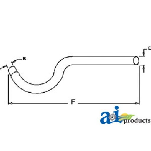 Tractor Exhaust Pipe Extension : A extension pipe