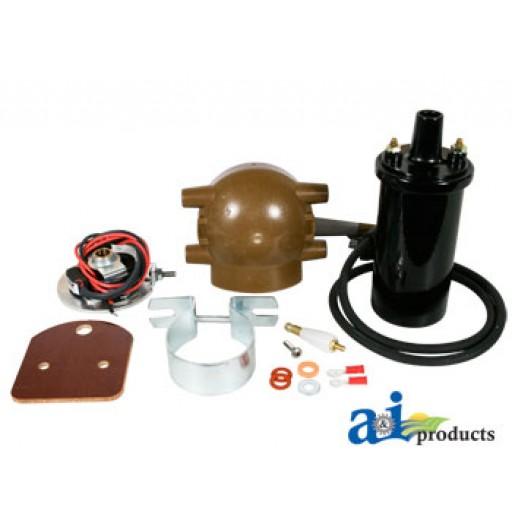 6 Volt Positive Ground Coil : Xtp ignition coil conversion kit volt positive