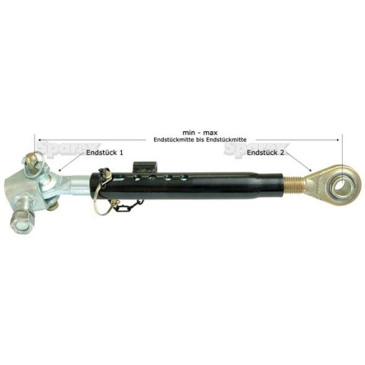 Telescopic Stabilizer Bar Tractor : S stabilizer bar hole ford