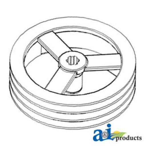 238967a2 pulley jackshaft drive feeder. Black Bedroom Furniture Sets. Home Design Ideas