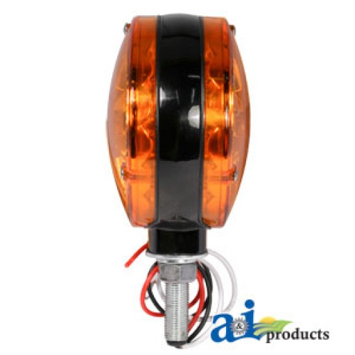 Tractor Amber Safety Lights : A safety light amber led