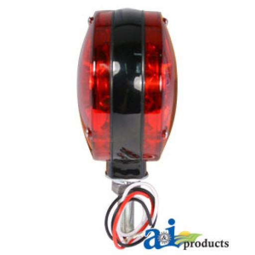 Tractor Safety Lights : A safety light red led