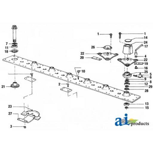 40130207 Bearing Vicon Mower