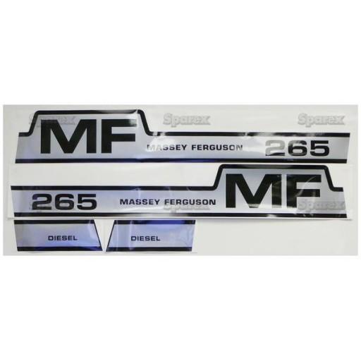 Massey Ferguson Decal Kits : S decal kit mf hood