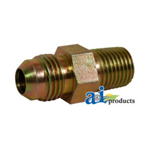 C straight solid male jic npt adapter