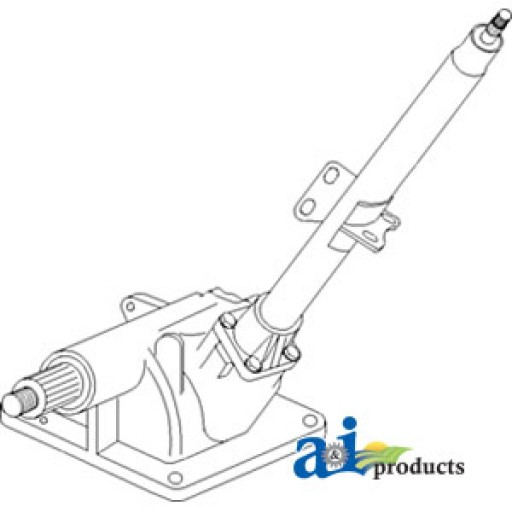 Tractor Fiat Partssteeringbox : Steering box assembly