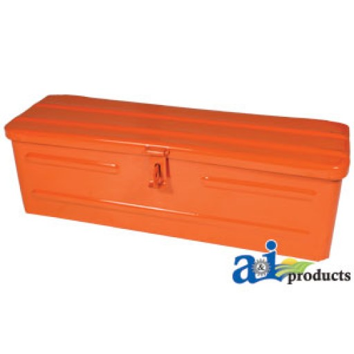 Tool Box For Tractor : A or tool box orange