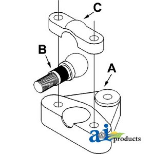 Ball Pivot Pin : C ball axle pivot
