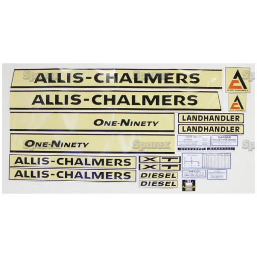 Allis Chalmers Decal Kits : S decal kit ac