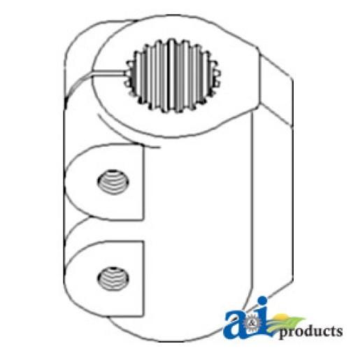 90031c2 coupling 4wd transfer gearbox 21 spline apl330. Black Bedroom Furniture Sets. Home Design Ideas