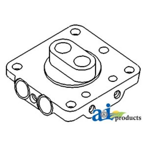 9n622 Valve Chamber Hydraulic Pump Lh W Valves