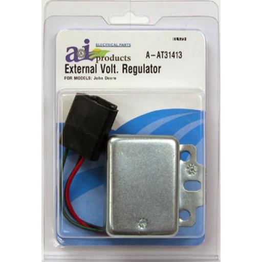 External Voltage Regulator : At regulator external voltage