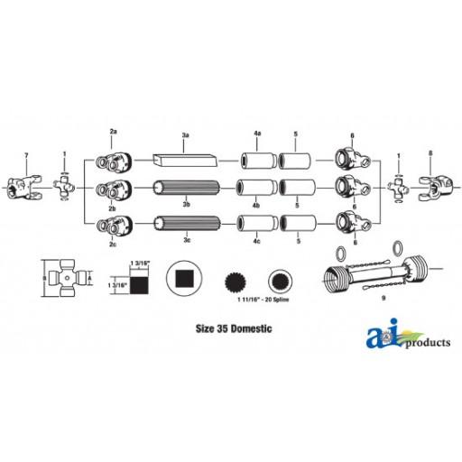 Cross Bearing Sizes : D cross bearing kit