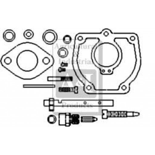 Basic Tractor Parts Diagram : Ihck carburetor kit basic