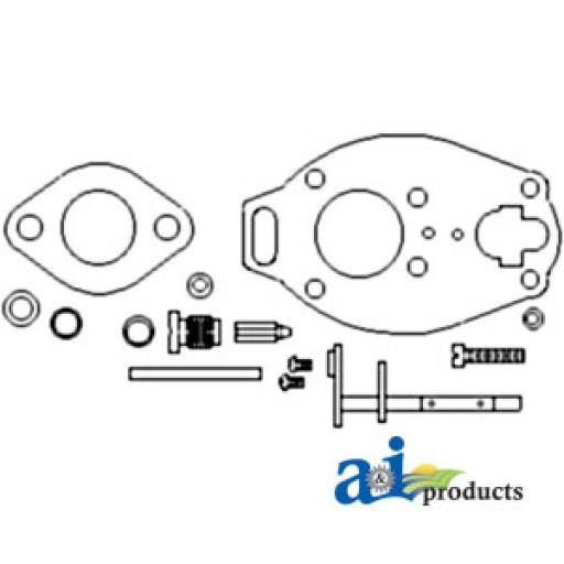 marvel schebler carburetor parts diagram