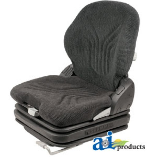Tractor Seat Grammer Ds44 Cushions : Msg ggrc grammer seat charcoal matrix cloth