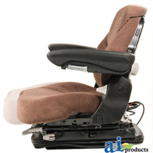 Tractor Seat Grammer Ds44 Cushions : Msg bnc grammer seat assembly brown matrix cloth
