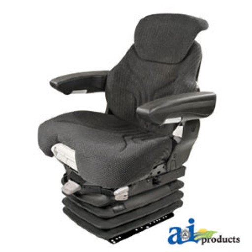 Cloth Tractor Seats : Msg grc grammer seat assembly charcoal matrix cloth