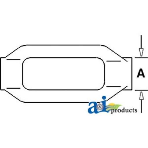Ford Tractor Stabilizer Turnbuckles : Sba turnbuckle stabilizer link