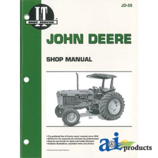 John Deere 2653B Trim and - A Repair Manual Store