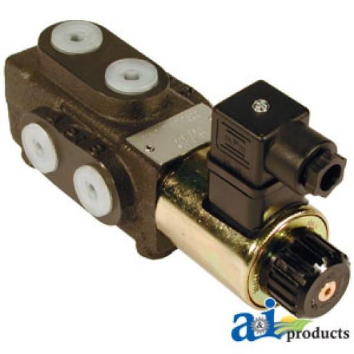 Tractor Hydraulic Diverter Valve 12v : Vfd port solenoid diverter valve quot bsp