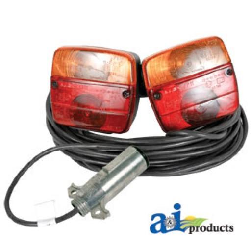 vlc2120 trailer magnetic light kit w case 39 7 pin. Black Bedroom Furniture Sets. Home Design Ideas