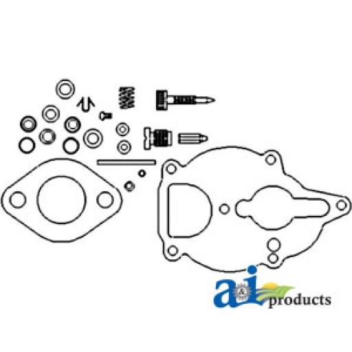 farmall h carburetor diagram