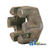 """00020900 - Nut 1-1/8""""-12 Slotted"""