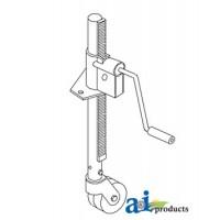 15A165W - Jack, Trailer & Imp. Steel Wheel-A-Frame Mount (750 Lb.)