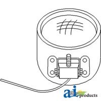 28A11 - Headlamp, Sealed Beam 6 Volt