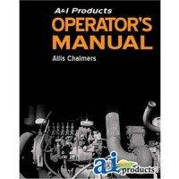 AC-O-160 - Allis Chalmers Operator Manual