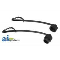CAP2 - Cabcam Cap Plug For Power Video Cable, Pair: 1 Male 1 Female